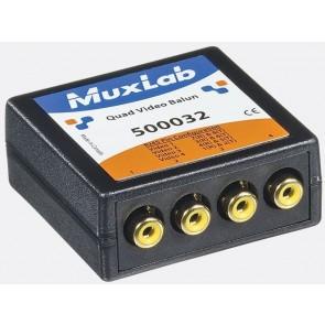 500032 Balun Muxlab Quad VIdéo