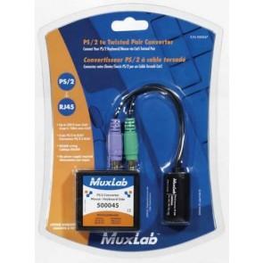 500047 Balun Muxlab VideoEase Convertisseur Souris et Clavier PS/2 (Pack 500045 + 500046)