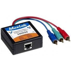500050 Balun Muxlab VideoEase Composante Vidéo digital Audio Mâle