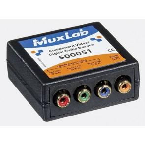 500051 Balun Muxlab VideoEase Composante Vidéo digital Audio Femelle