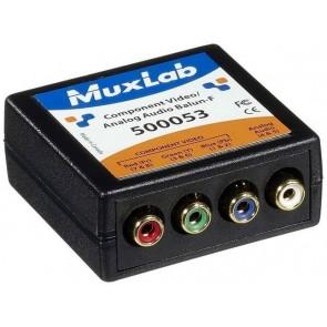 500053 Balun Muxlab VideoEase Composante Vidéo Analogue Audio Femelle