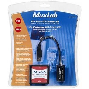 500070 Kit Extendeur Muxlab 4 Ports USB