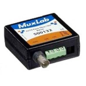 500132 Balun Muxlab VideoEase CCTV Pass-Thru/GLI