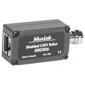 500306 Balun Muxlab CATV blindé