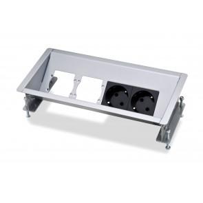 Boîtier de connexion 4 modules CablePort Basic Kindermann 5301170000
