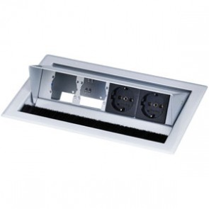Boîtier de connexion de table CablePort Standard Kindermann 7444000052