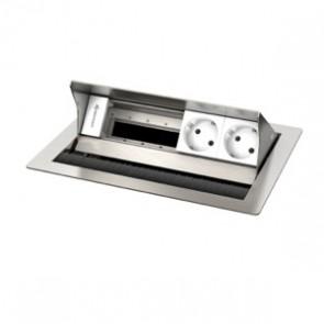 Boîtier de connexion de table CablePort Standard² Kindermann 749200052