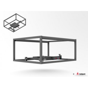Structure tubulaire classique pour vidéoprojecteur P5406 Audipack