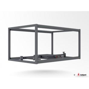 Structure tubulaire classique pour vidéoprojecteur P5515 Audipack - Dimension projecteur max : W385xD815xH385 mm