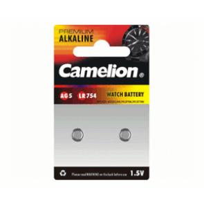 Pack 2 Piles Boutons Camelion Alcaline AG5/LR754