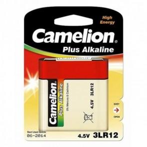 Pile plate avec languette Alcaline Camelion 4.5V 3LR12