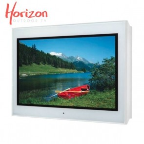 Ecran d'extérieur 4K Haute Luminosité Horizon 43p  Blanc