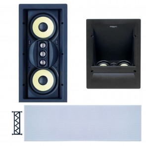 Kit Haut-parleurs mural ATS 500 Speakercraft