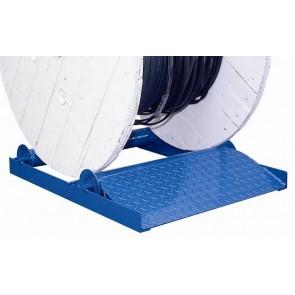 Dérouleur à rouleaux pour touret de diamètre 600-1050 mm