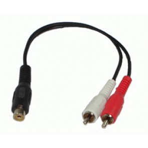 Cordon audio Rca 0.20 m