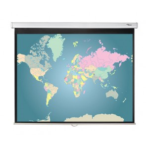 Ecran de projection manuel 4/3 DS-3084 Optoma 128 x 171 cm
