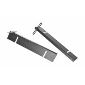 """Kit de montage rack 19"""" pour écran E-Boxx EBE-19MBR1"""