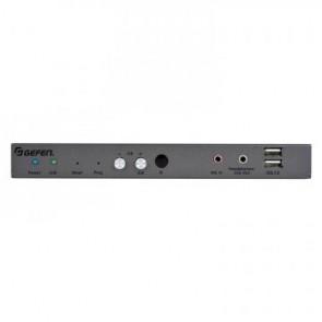 Récepteur Vidéo sur IP en KVM DisplayPort 4K, USB, audio, RS232, IR Gefen EXT-DPKA-LANS-RX
