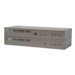 Extendeur DVI 3600HD Gefen DVI/USB/RS-232 sur fibre optique