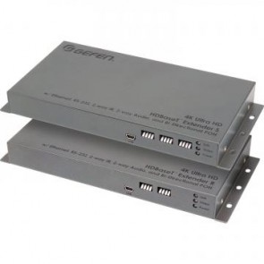 Extendeur de signal 4K HDBaseT 2.0 + RS-232, IR/audio Gefen EXT-UHDA-HBT2