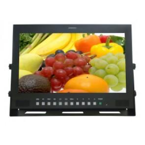 Ecran plat LCD TFT 17,3 pouces HD-SDI HD-6173