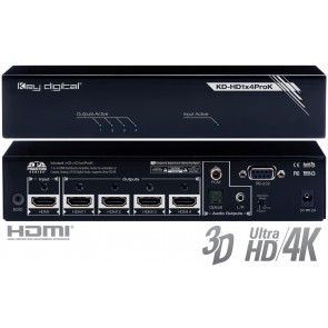 Distributeur HDMI 1x4 KD-HD1X4PROK Key Digital