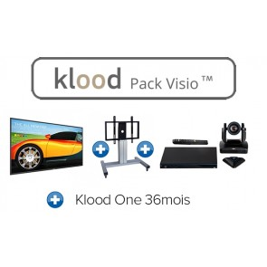 klood PACK VISIO 75BDL3050Q00 + EVC170 + Klood One 36mois + EBS-MOT-67