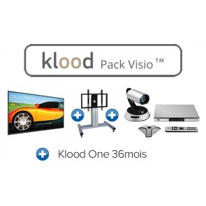 klood PACK VISIO 75BDL3050Q00 + SCV100 + Klood One 36mois + EBS-MOT-67