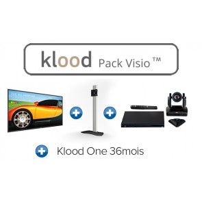 klood PACK VISIO 86BDL3050Q00 + EVC170 + Klood One 36mois + AUD-390943