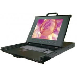Système rack 1U LCD 15 pouces