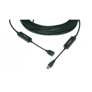 Câble optique point à point USB 20m M2 Opticis