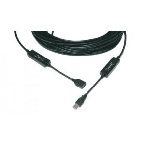 Câble optique point à point USB 30m M2-100 Opticis
