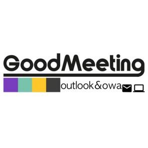 Extension Outlook & Outlook Web Access de GoodMeeting