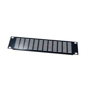 Panneau 19'' avec grille de ventilation 4u noir PAN4194V  S2CEB