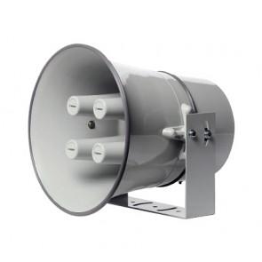 Pavillon circulaire Rondson aluminium gris clair - 4 trompes (sans moteur)