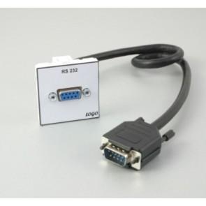Plastron 45 + 1 SubD 9 F ou M 5m fiche HD9 M