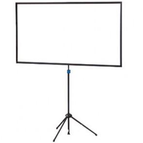 Ecran ultra-portable Trépied Crossscreen blanc Oray 112x200 CS1B1112200