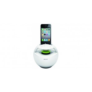 Station RDP-V20iP SONY Blanc HP portable pour iPod iPhone