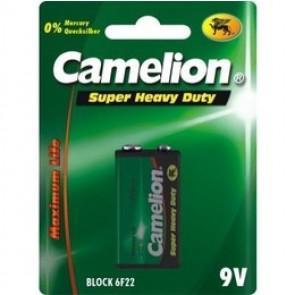 Pile Camelion Saline Super Heavy Duty 9 Volt Block/6F22