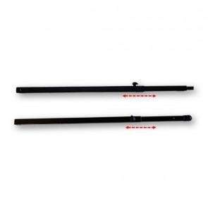 Extension 500 à 900mm pour Monoprojecteur 30 noir OMB-6209