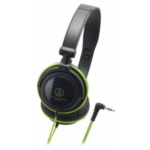 Casque audio-technica ATH-SJ11BGR Noir et Vert