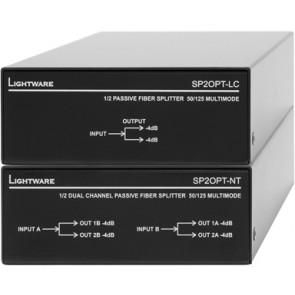Distributeur fibre optique Lightware SP2OPT-LC