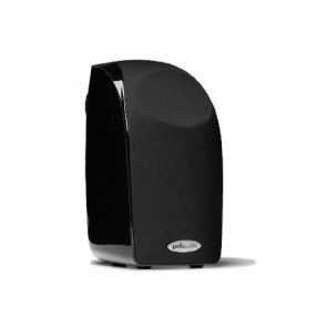 Enceinte Polk TL1 Satellite Noir Brillant
