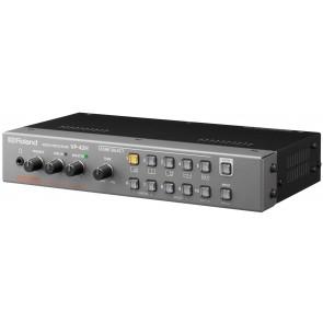 Processeur video quad, pip, controle sur lan Roland VP-42H