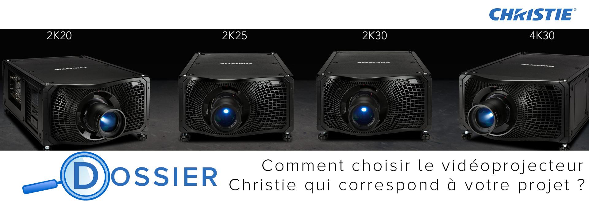 Comment choisir le vidéoprojecteur Christie qui correspond à votre projet ?