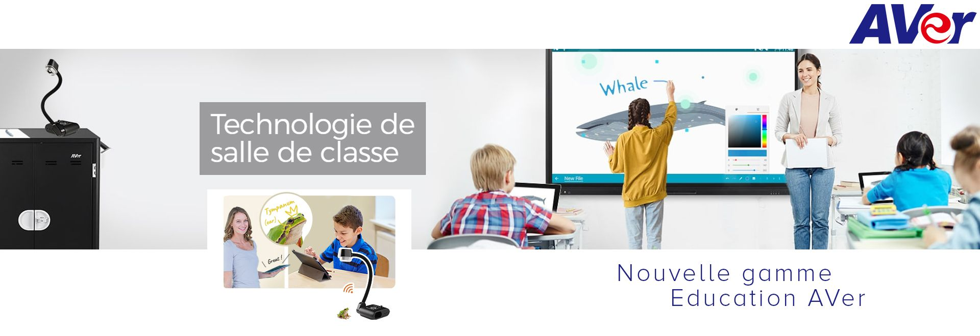 Nouvelle gamme education AVer