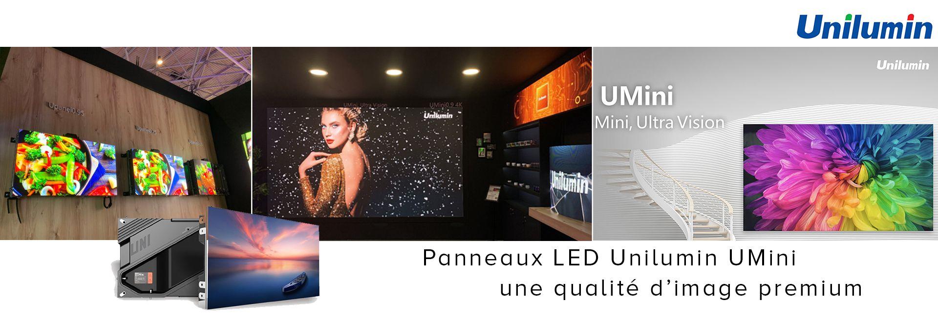 Panneaux LED Unilumin UMini : une qualité d'image premium