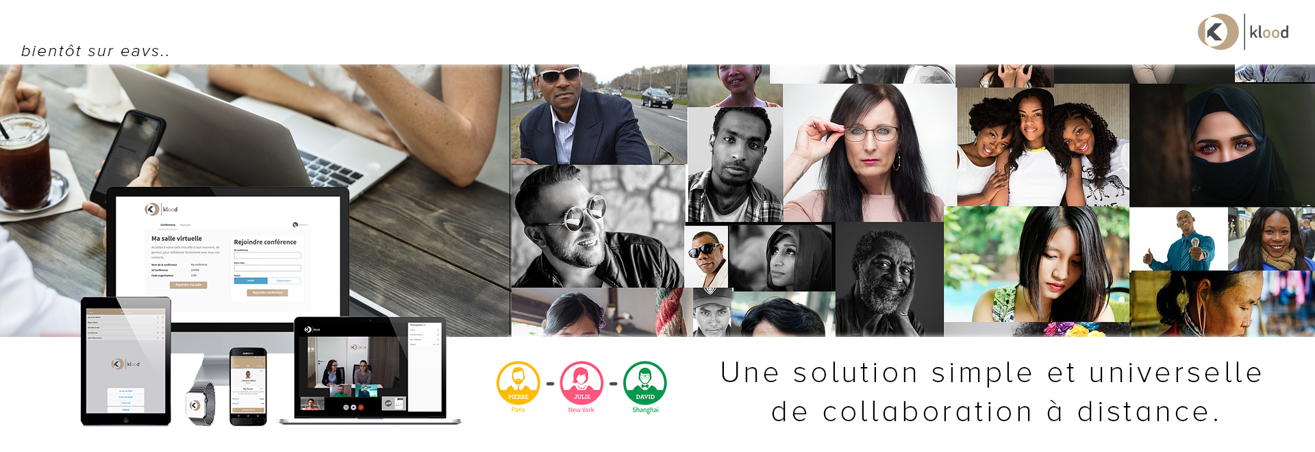 Une solution simple et universelle de collaboration à distance