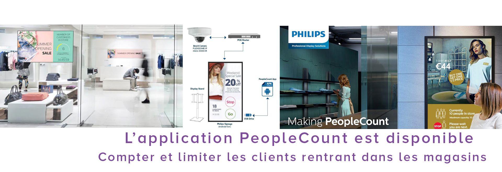 PeopleCount pour limiter le nombre de clients dans un lieu de vente
