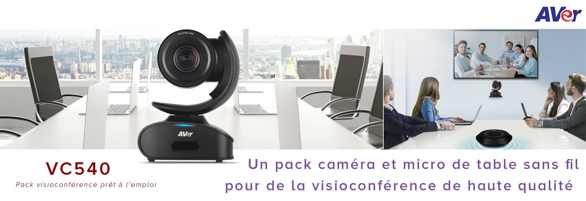 VC540 : pack visioconférence prêt à l'emploi, facile à installer